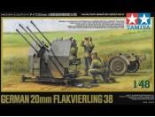 1/48 German 20mm Flakvierling 38 Tamiya 32554