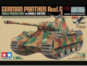 Tamiya 30055 1/35 German Panther Ausf.G Early Production w/Motor - foto 1