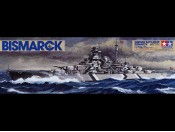 1/350 German Battleship Bismarck Tamiya 78013