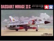 1/100 Dassault Mirage III C Tamiya 61603