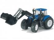Bruder 03021 Traktor New Holland TG285 z ładowaczem