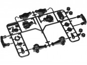 TL-01 Części B Zwrotnice Tamiya 50736