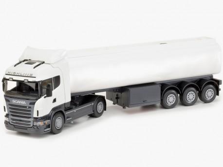 Emek 90400 Scania R09 Highline ciągnik z cysterną - biały
