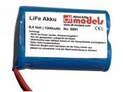 Akumulator 6,4V/1000mAh LiFe DF Models 6991