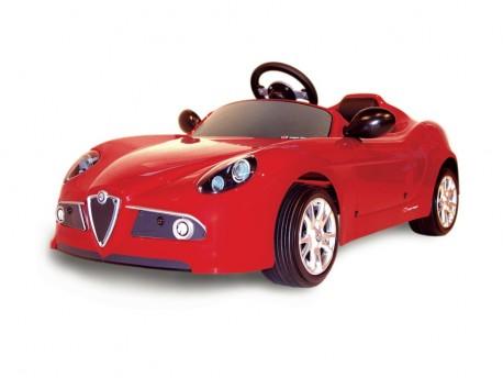 Toys Toys 656274 Samochód elektryczny Alfa Romeo 8C 6V