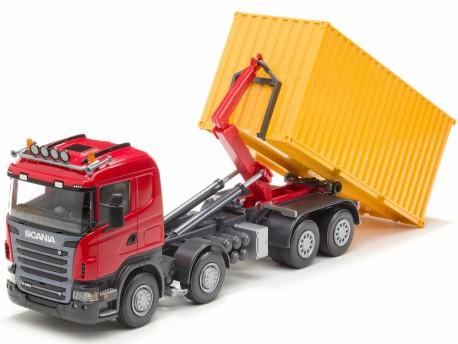Emek 83705 Scania R hakowiec 20 - kabina czerwona