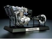 1/6 Kawasaki Z1300 - Silnik Tamiya 16023