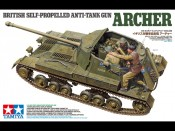 Tamiya 35356 1/35 British Anti Tank Gun Archer - foto 1