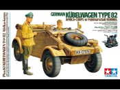 1/16 German Kubelwagen 82 Afrika Korps w.Rommel Tamiya 36202