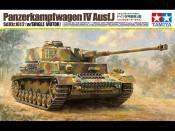 1/16 German Panzer IV Ausf.J z silnikiem Tamiya 36211