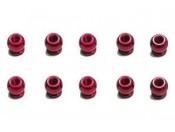 Tamiya 53639 Nakrętki kulowe 6 mm czerwone - foto 1