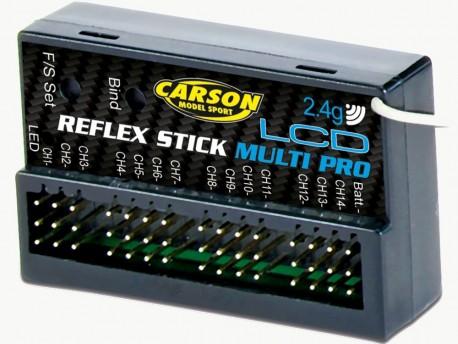 Odbiornik Reflex Stick Multi Pro LCD 14K 2,4GHz Carson 500501544