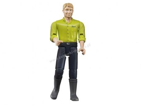 Bruder 60005 Figurka mężczyzny w ciemnoniebieskich dżinsach