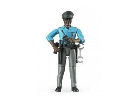 Bruder 60051 Figurka czarnoskórego policjanta