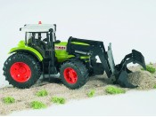 Bruder 03011 Traktor Claas Atles 936 RZ z ładowarką