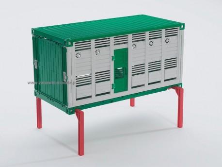 Bruder 03920 MAN kontener do transportu zwierząt