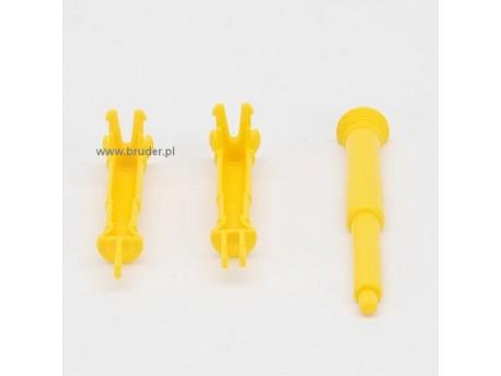 Bruder 42029 Wałki żółte