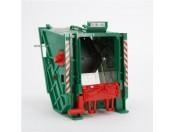Bruder 42630 MB Actros śmieciarka - Tylna klapa zielona