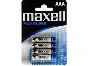 Baterie alkaliczne 1,5V R3/AAA Maxell 4szt