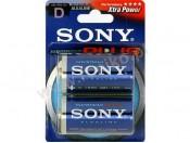 Baterie alkaliczne 1,5V R20/D (2) Stamina Plus Sony AM1-B2A