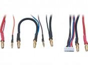 Przewody ładowania 2x2S LiPo Hardcase/Balanser LRP 65822