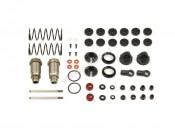 Amortyzatory aluminiowe Big Bore 23mm - 2 komplety DEX210/DEX410 Team Durango TD230004