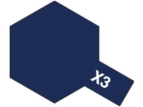 X-3 Royal Blue 10ml Tamiya 81503
