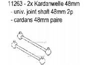 CS Wałki przegubowe 48mm (2) Carson 500011263