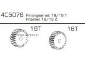 Zębatki 18/19T CE-10 Carson 500405076
