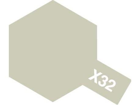 X-32 Titanium Silver emalia 10ml