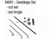 CR-2B/4B Drążki przepustnicy i hamulca - zestaw Carson 500054881