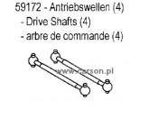 CH-4 Wałki napędowe (4) Carson 500059172