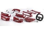 Xmods - Karoseria Toyota Supra Red - zestaw tuningowy Carson 500059715