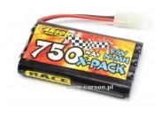 Akumulator 9,6V/750mAh NiMh X-Pack Carson 500608057