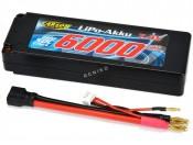 Akumulator 7,4V/6000mAh LiPo 50C Box 4mm Carson 500608138