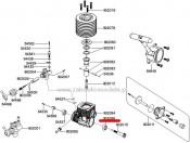 Force 5,23ccm - Łożysko wałka korbowego (tylne) Carson 500902086