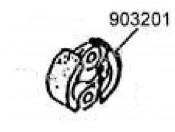 Carson/Zenoah 23/27ccm - Szczęki sprzęgła Carson 500903201