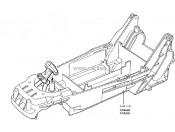 Fighter - Podwozie 58184/57501 wanienka Tamiya 0335122