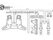 GT-01 Części S Tamiya 9115176
