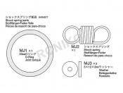 NDF-01 Sprężyna zderzaka Tamiya 19404517