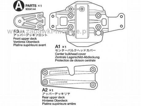 NDF-01/T Części A Tamiya 9004144