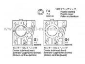 NDF-01 Części F4, G1, G4 Tamiya 9004146