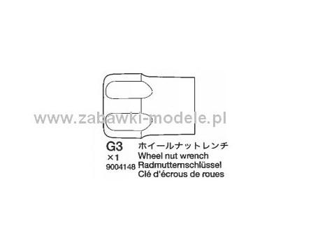 Klucz do kół 12mm NDF-01 Tamiya 9004148