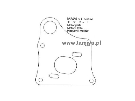 TA-04 Płyta silnika Tamiya 3455490