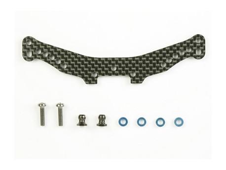 TA-05 * Mostek amortyzatorów tylnych - karbon Tamiya 53846