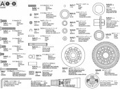 TA-05 Części A metal Tamiya 9400289