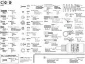 TA-05-IFS Części C metal Tamiya 9400627