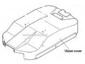 TB-01 Osłona przeciwpyłowa podwozia Tamiya 1835088