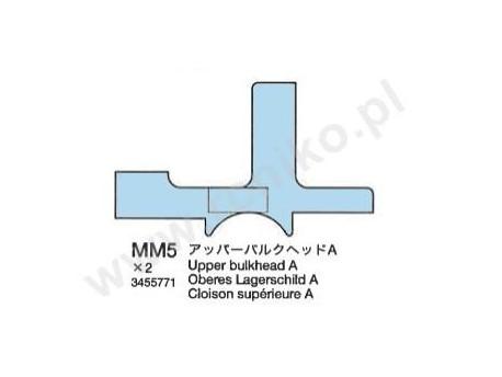 TB Evo IV Górny blok montażowy A Tamiya 3455771