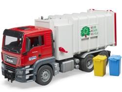 Zabawka Samochód straży pożarnej MB Arocs z sygnałami